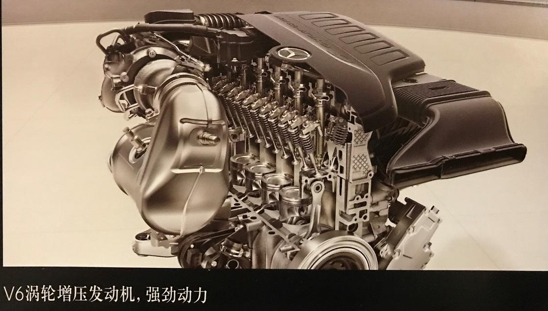 V6ターボエンジン